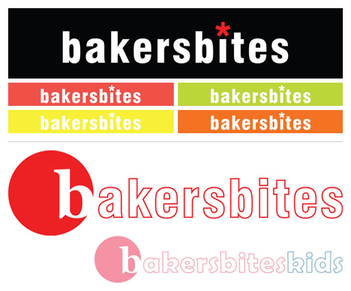 Bakers Bites Logo Concepts