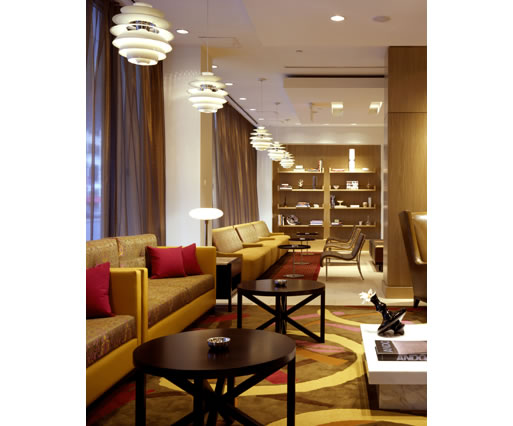 Jeff espiritu interior design projects hilton hartford for Interior design consultant chicago