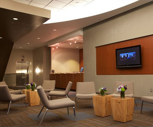 University Center Reception Area